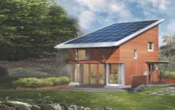projekty domů s pultovou střechou