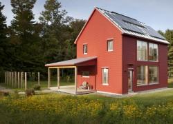 projekty domů se sedlovou střechou