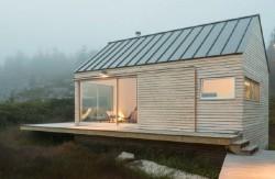 projekty domů pro úzký pozemek