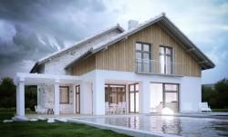 jednopodlažní domy s obytným podkrovím